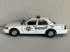 Blount County Tennessee custom sheriff's diecast car Motormax 1:24 scale Car