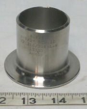 "316 Stainless Steel 1-1/2"" Butt Weld Pipe Stub End SCH 10"
