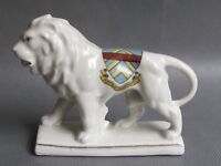 CRESTED WARE ARMS OF MONMOUTH LION GERMAN (Ref3227)