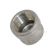 "3/8"" Cap Female Stainless Steel SS304 Threaded Pipe Fitting NPT Stainless Caps"