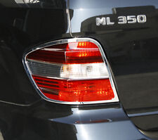 MERCEDES BENZ ML CLASS 4 DOOR SUV W164 NEW CHROME REAR LIGHT TRIMS 2005 - 2008