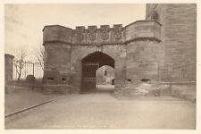 Albumen Print Linlithgow Palace Gateway 1860s-70s James Valentine Photograph