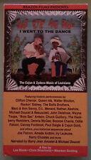 J'AI ETE AU BAL I WENT TO THE DANCE cajun & zydeco music of la VHS VIDEOTAPE