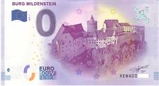 0 Null Euro Schein Burg Mildenstein Zéro 2017-1  0 € Billet Touristique (74)