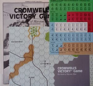 TSR CROMWELL'S VICTORY S&T 101 UNPUNCHED! SPI AVALON HILL GDW RELATED