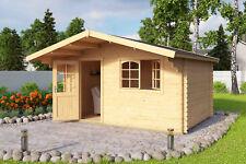 44 mm Gartenhaus Aktion 4 Gerätehaus ca 400x300 cm Holzhütte Blockhütte Schuppen