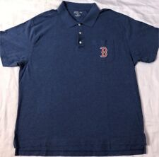 Boston Red Sox Polo Shirt Size XL Jersey Golf T-shirt Sweatshirt Playoffs