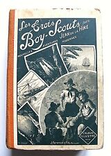 JEAN DE LA HIRE : LES TROIS BOY-SCOUTS N°1 À 75  / FERENCZI / RELIÉ / SCOUTISME