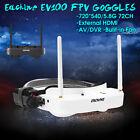Eachine EV100 FPV Goggles 5.8G 720*540 72CH Dual Antenna w/ 7.4V 1000mAh  d z
