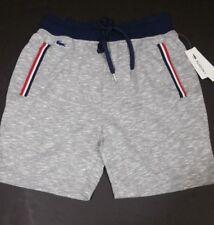 Lacoste Sleep Shorts in Light Grey Heather , Sleepwear Shorts, NWT - A2