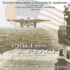 PRICE FOR PEACE - (Steven Spielberg WWII Soundtrack) CD