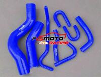 Silicone Radiator Heater hose For Toyota LandCruiser VDJ200 4.5L V8 2007-17 BLUE