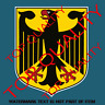 GERMAN COAT OF ARMS STICKER DECAL SUIT CAR TRUCK MAN CAVE GERMAN DEUTSCHLAND