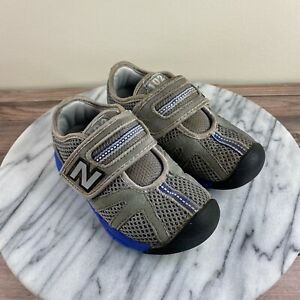 New Balance KV102 Athletic Sneakers Gray & Blue Toddler Size US 8 / EU 25