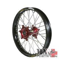 RUOTA COMPLETA HONDA CRF 450 R 2002-2012 HAAN WHEELS 2,15 - 19'' mozzo rosso/cer