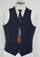 Men's Harry Brown heritage, Blue waistcoat (40R).. sample 2043