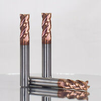 5 Pcs 4 Flutes 1-4mm Carbide End Mill Set Tungsten Steel CNC Milling Cutter Tool