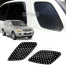 Quarter Glass Sports Mask Matt Black Decal Stickers for KIA 2005-2010 Sportage