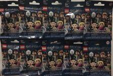 New Lego Harry Potter Series 1 Mystery Mini Figure Pack Lot of 10 *Mint* #71022