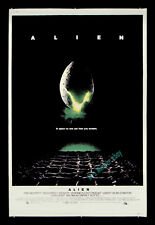 Alien ☆1979 Nss Rolled 40x60 Poster ☆ Must Have Movie Title ☆ Best Size On Film!