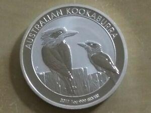 2017 Australia 1 oz .999 Silver Australian Kookaburra