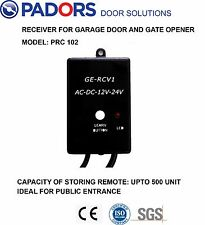 Universal Garage Door & Gate Motor' Receiver for Up To 500  Remote