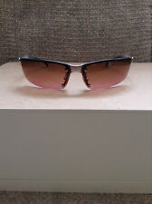 CHANEL - Authentic 4008 Silver Chrome Rimless Rectangle Sunglasses