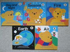 BEAR FACTS HC LOT 5~Bennett Kightley~EARTH~DAY NIGHT~AIR~FIRE~SEASONS~DigestKids