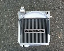 Aluminum Radiator For Austin Healey Sprite Bugeye/MG Midget 1960-1966 2Row 61 64