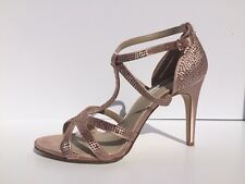 INC International Concepts Reggi Womens Size 8 Pink Dress Sandals Shoes Used