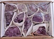 Wholesale Bulk Natural Amethyst Crystal Clusters: 9-14 Piece Lot