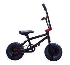 """LIMITED 1080 Bambini Stunt Edition Freestyle 10"""" ruote Mini Bicicletta BMX Nero & Rosso"""