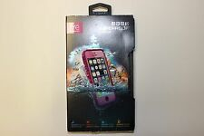 Authentic LifeProof Fre Waterproof Shockproof Case for iPhone 5/5S/SE - Pink