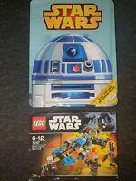 LEGO Star Wars Bounty Hunter Speeder Bike Battle Pack -75167- BNIB with Book set