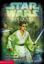 Star Wars Jedi Quest The Way Of The Apprentice #1 Paperback Book Novel