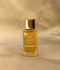 Vintage CHANEL No 5 Paris 1/4oz Eau De Toilette EDT Mini Perfume NEW OLD STOCK
