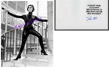 Orig. S/W-photo Dame érotique Bottes latex fétiche Rubber Urban AtomAge ART 1965