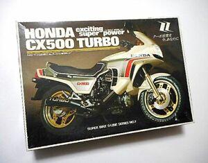 UNION ■ 1/15 Model Kit ■ HONDA CX500 TURBO ■ Some parts are already painted