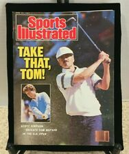 SCOTT SIMPSON & TOM WATSON Sports Illustrated June 29 1987 U.S. OPEN