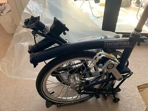 Brand new 2020 Brompton H6L tempest blue Must Sell