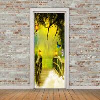 Boj 3D Magic Window Wall Art Sticker Mural Self Adhesive Vinyl Poster Decal V7*