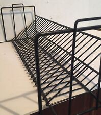 Vintage Wire CD Rack,Holds 26 CDs