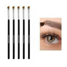 5PCS Eyebrow Eyeliner Makeup Brushes Set Eyeliner Groom Kit Slanted Flat Angled