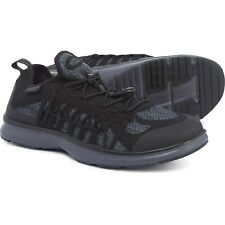Keen Uneek Exo Black Knit Sneakers Fast Dry Speed Lace Shoes Mens Size 10.5 NEW