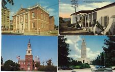 POSTCARDS LOT OF 9  MOSTLY HISTORICAL BUILDINGS  REF 1551