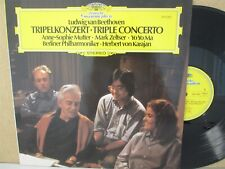 DG 2531 262- MUTTER Violin/YO MA Cello/ZELTSER- Beethoven Triple Concerto LP