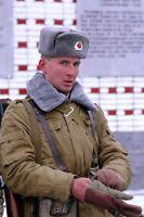 ☆ ORIGINAL SOWJETARMEE RUSSISCHE SOLDATEN WINTER UNIFORM MÜTZE SCHAPKA USCHANKA