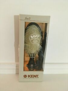 Kent Finest Soft Bristle Brush for Fine or Thinning Hair