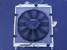 MISHIMOTO RACING RADIATOR+THIN FAN 92-00 HONDA CIVIC/DEL SOL