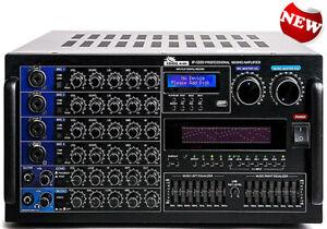 IP-5000 - 6000W Professional Karaoke Mixing Amplifier BRAND NEW MODEL 2021
